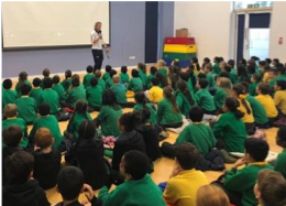 Poplar School develop pupils and teachers with Quick Start Hockey...