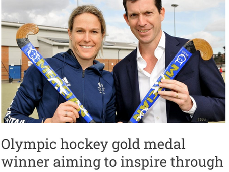 Olympic hockey gold medal winner aiming to inspire through Quick Start Hockey...