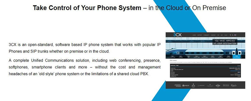 Take control of your Phone System - in the Cloud or On Premise