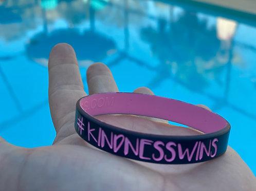 #KindnessWins wristband