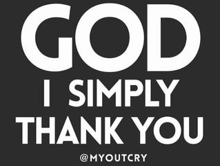 Being Thankful ❤️