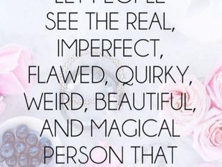 Let others see the real you
