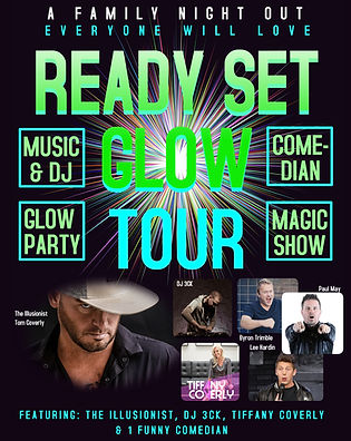 READY SET GLOW TOUR