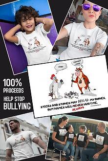 Anti-Bullying T-Shirts,