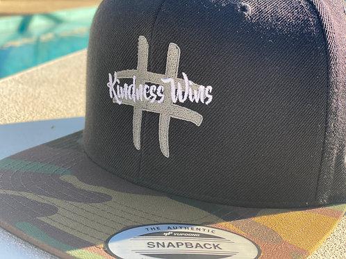 Camo Hat #KindnessWins