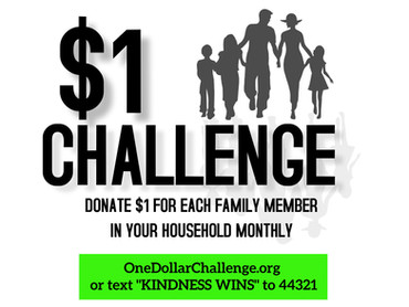 Will you take the challenge & help us stop bullying?