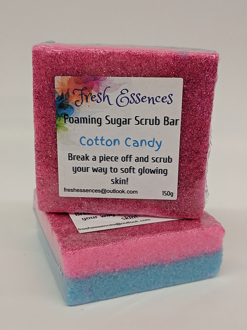 Foaming Sugar Scrub Bars - pick your scent