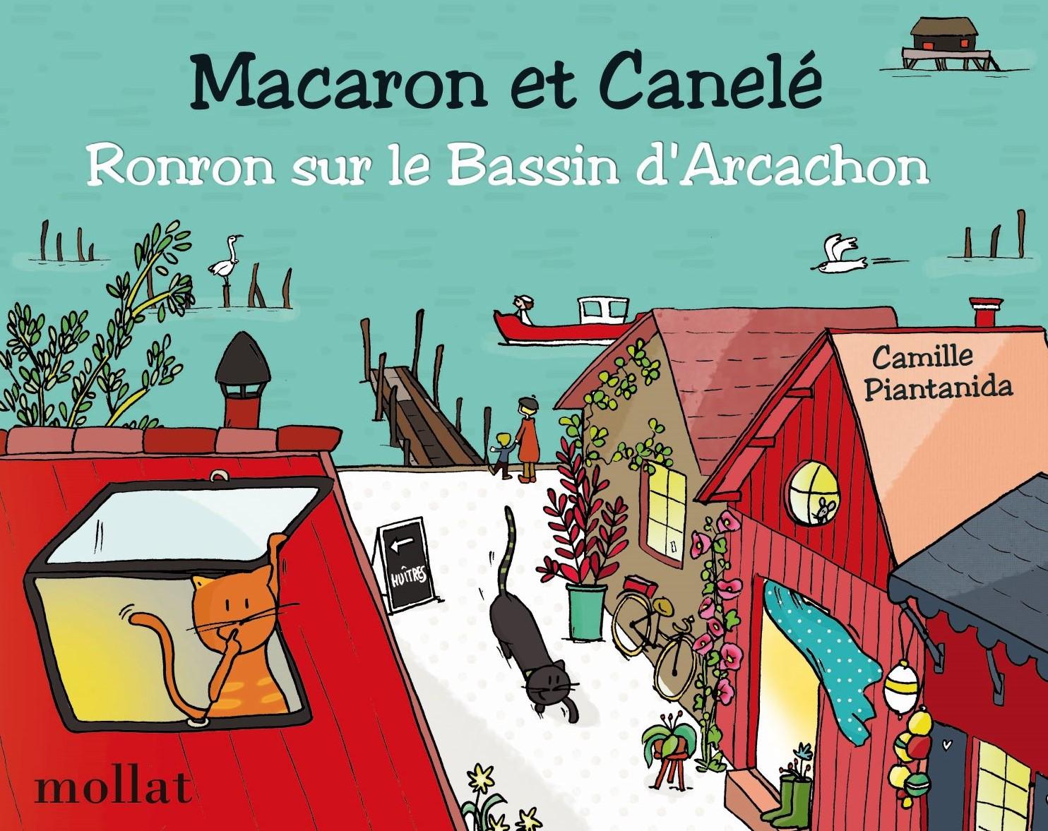 Macaron et Canelé - Ronron sur le Bassin