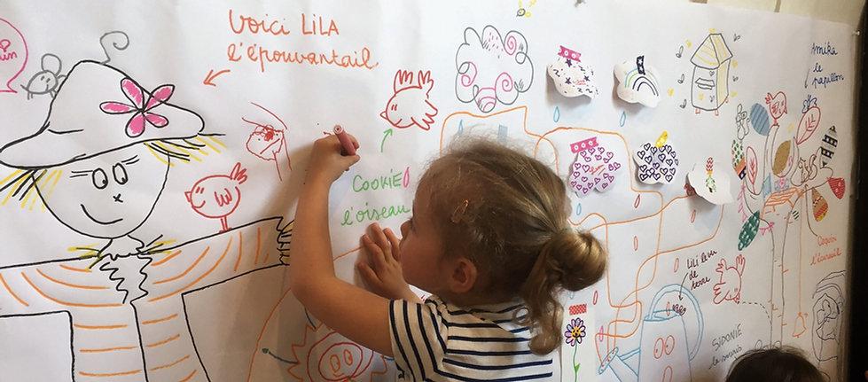 Camille Piantanida Fresques intéractives
