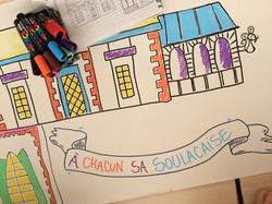 Soulacaises - Dessiner des belles maisons avec Camille Piantanida