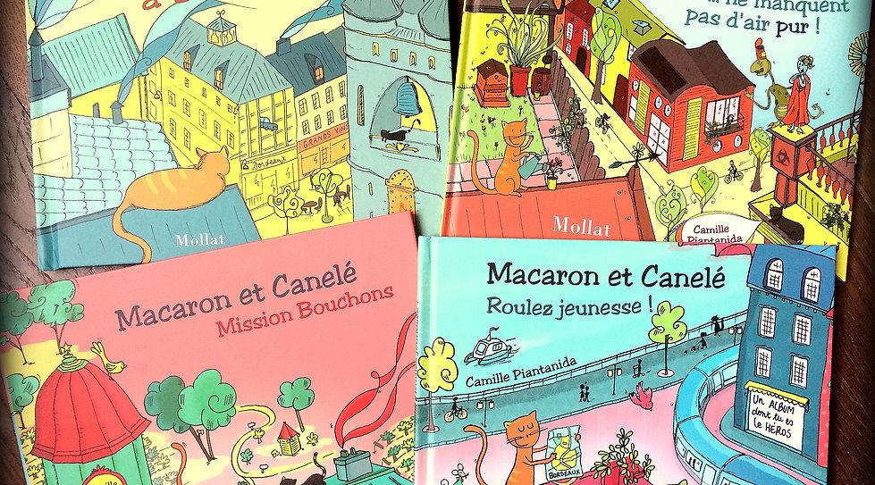 Camille Piantanida - albums jeunesse - Macaron et Canelé - éditions Mollat