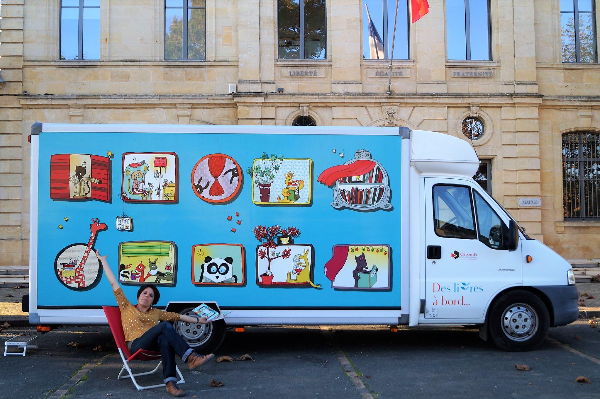 Covering Camion Librairie Itinérante