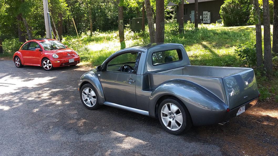 beetle car based truck, beetle ute