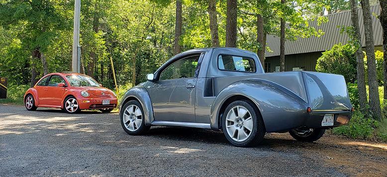 new beetle ute kit, beetle truck onversion