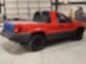 Jeep grand cherokee ute pick up kit