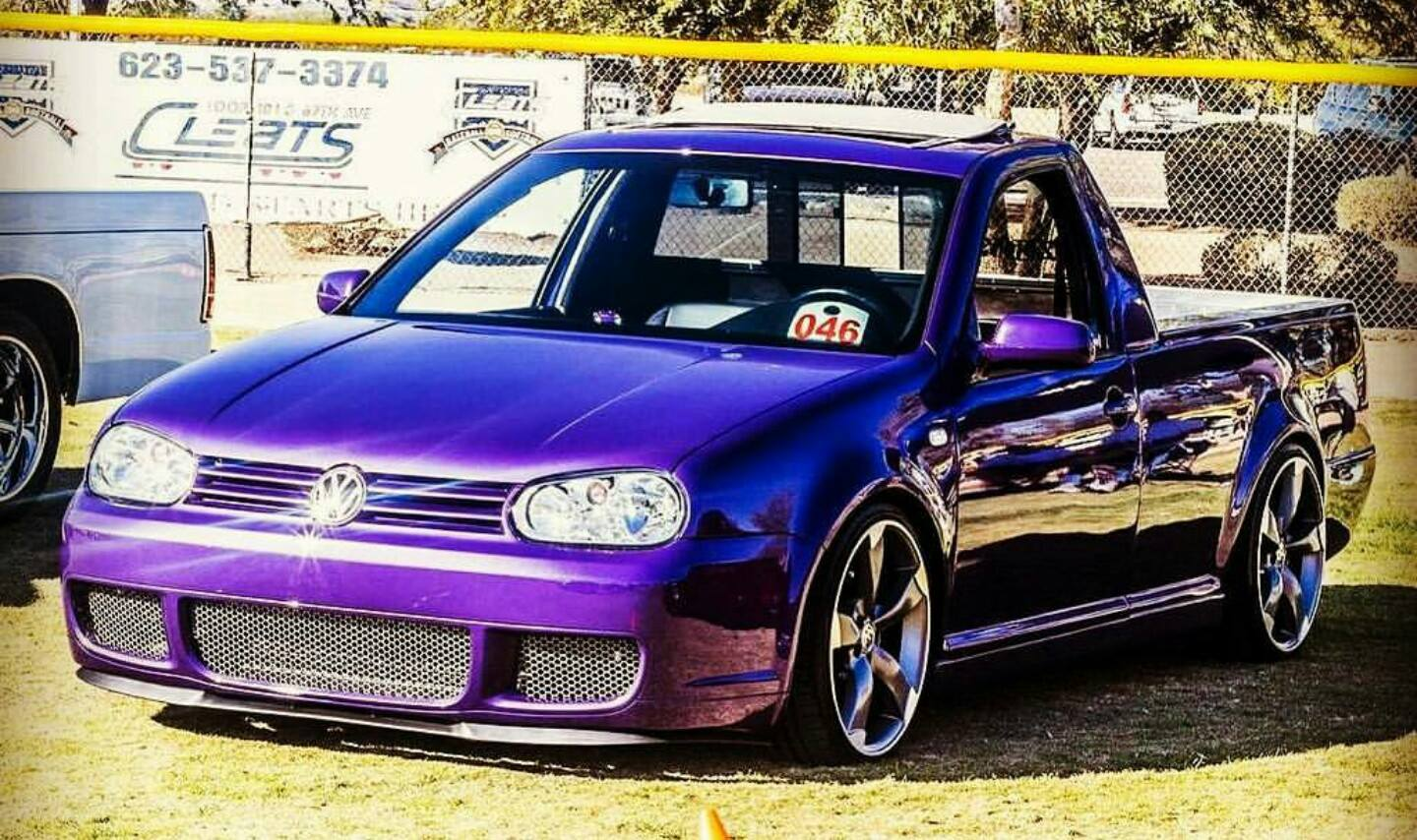 smythy purple gti look