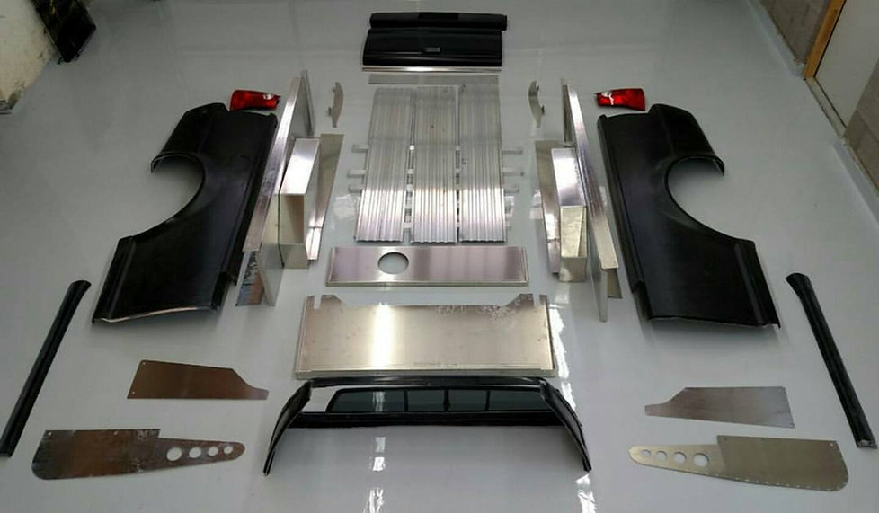 Smyth car-truck kit contents