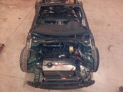 fuel cell goes where engine was