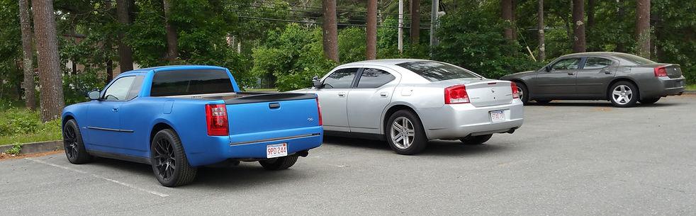 u.s. ute, modern kit car, charger car-truck kit