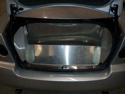 Aluminum laser cut inner panels