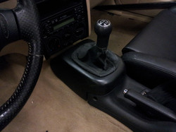 molded shifter tower