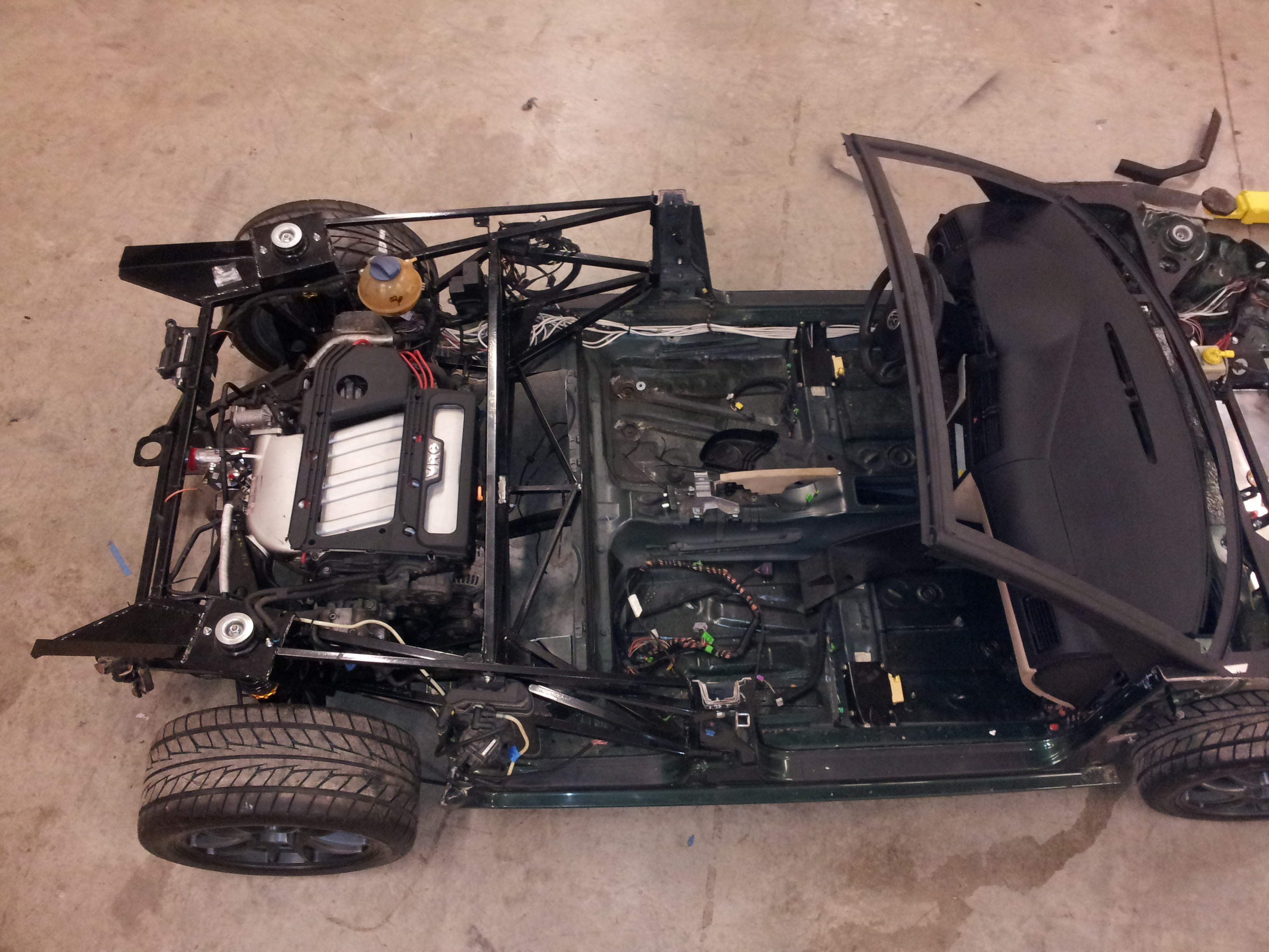 The G3F rolling chassis