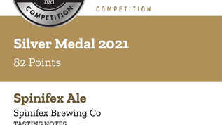 Spinifex Brewing Co claims a trifecta of awards at the 2021 London Beer Competition