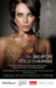 Vitisasia, Singapore Fete Le Champagne, Ludovic Tendron, fine dinning Asia