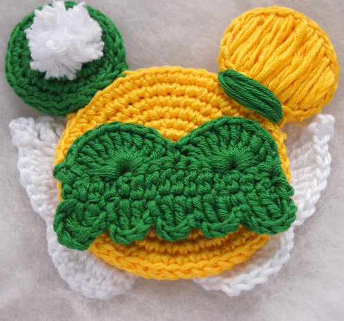 Disney Princess Tinkerbell Minnie Mouse Ears Crochet Pattern