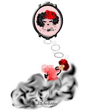 La rêveuse, Sticker mural