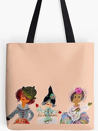 Trio 1 : pochette + foulard + sac