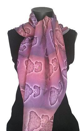 Angelines : pochette + foulard