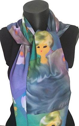 Nébuleuse : sac + foulard