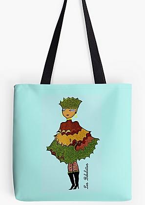 Feuillette : pochette + foulard + sac