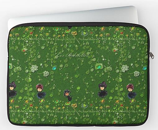 """Au vert - Housse de tablette 12"""""""