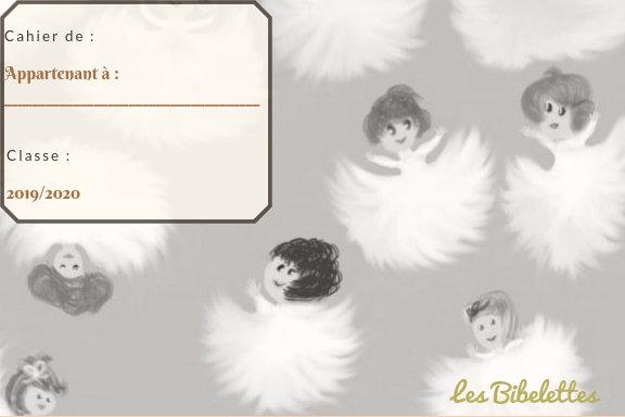 Etiquette Les petits duvets