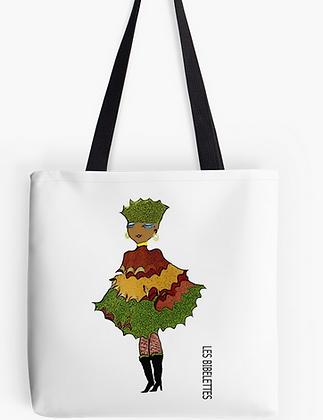 Automne : pochette + foulard + sac