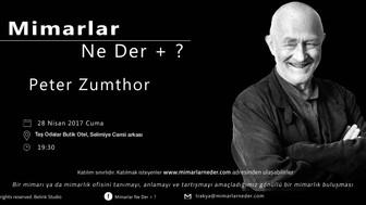 Trakya Topluluğu Peter Zumthor Buluşması