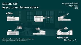 Mimarlar Ne Der +? İskele Buluşması