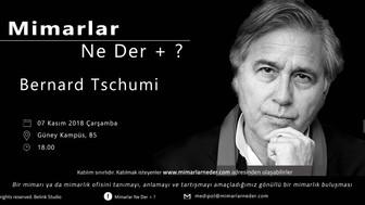 Bernard Tschumi Medipol Üniversitesi'nde Konuşulacak