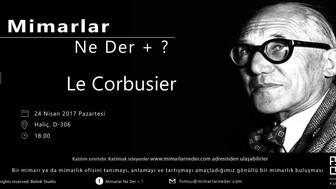 Fatih Sultan Mehmet Vakıf Üniversitesi Le Corbusier Buluşması