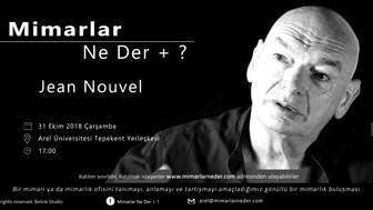 Jean Nouvel Arel Üniversitesi'nde Konuşulacak