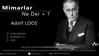 Gebze Teknik Üniversitesi Adolf Loos'u Konuşacak