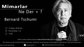 Bernard Tschumi Gebze Teknik Üniversitesi'nde Konuşulacak