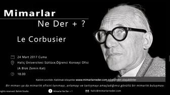 Haliç Üniversitesi Le Corbusier Buluşması