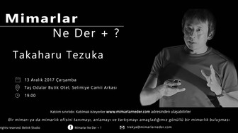 Trakya Topluluğu Takaharu Tezuka'yı Konuşuyor