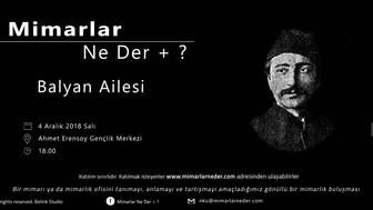 Namık Kemal Üniversitesi Balyan Ailesi'ni Tartışacak