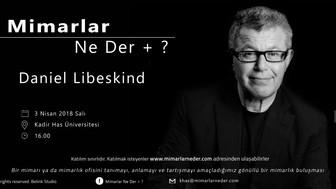 Daniel Libeskind Kadir Has Üniversitesi'nde Konuşulacak