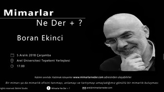 Arel Üniversitesi Boran Ekinci'yi Konuşacak