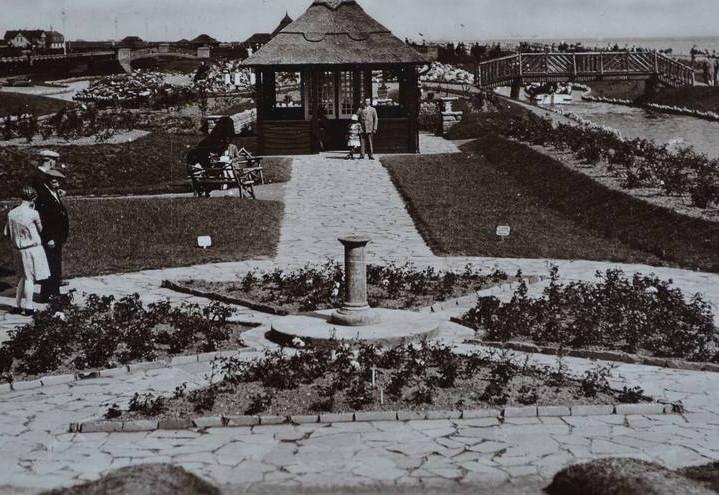 Sundial in the Waterways gardens